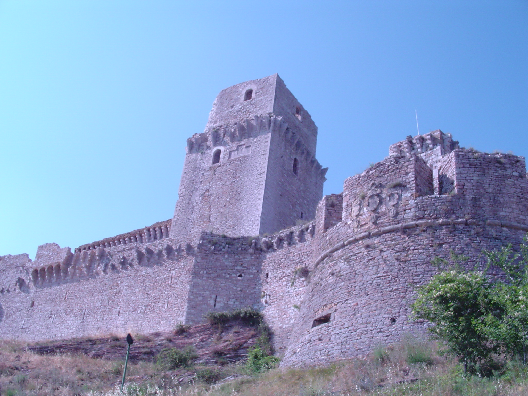 The castle at Assisi