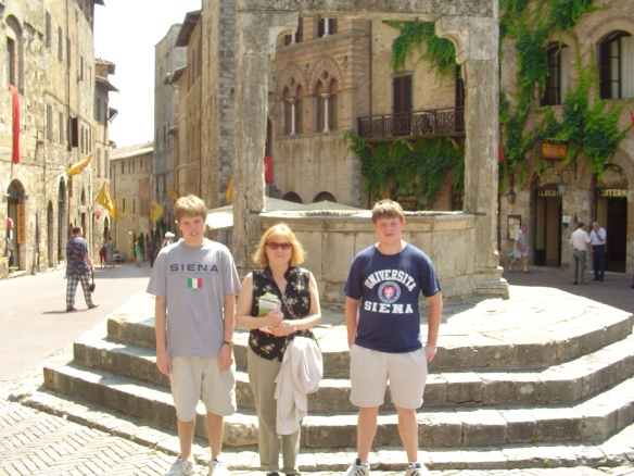 In the walled city of San Gimighiano