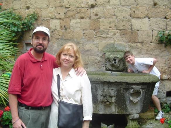 On the grounds of La Badia