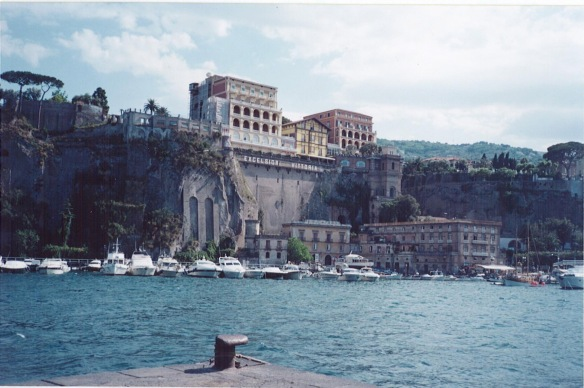 Sorrento from the beach