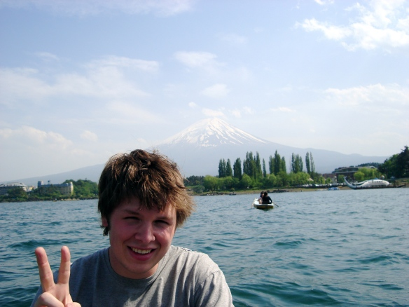 Russell and Mount Fuji