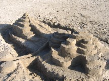 One view of our sand structure