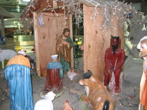 The Mexican nativity scene