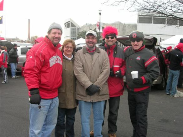 J Schoolers (left to right) J. Most Leickly, Sandy Theis, me, Bob Hust, and Ken Kraus