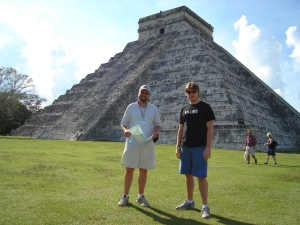 The main temple at Chichen Itza
