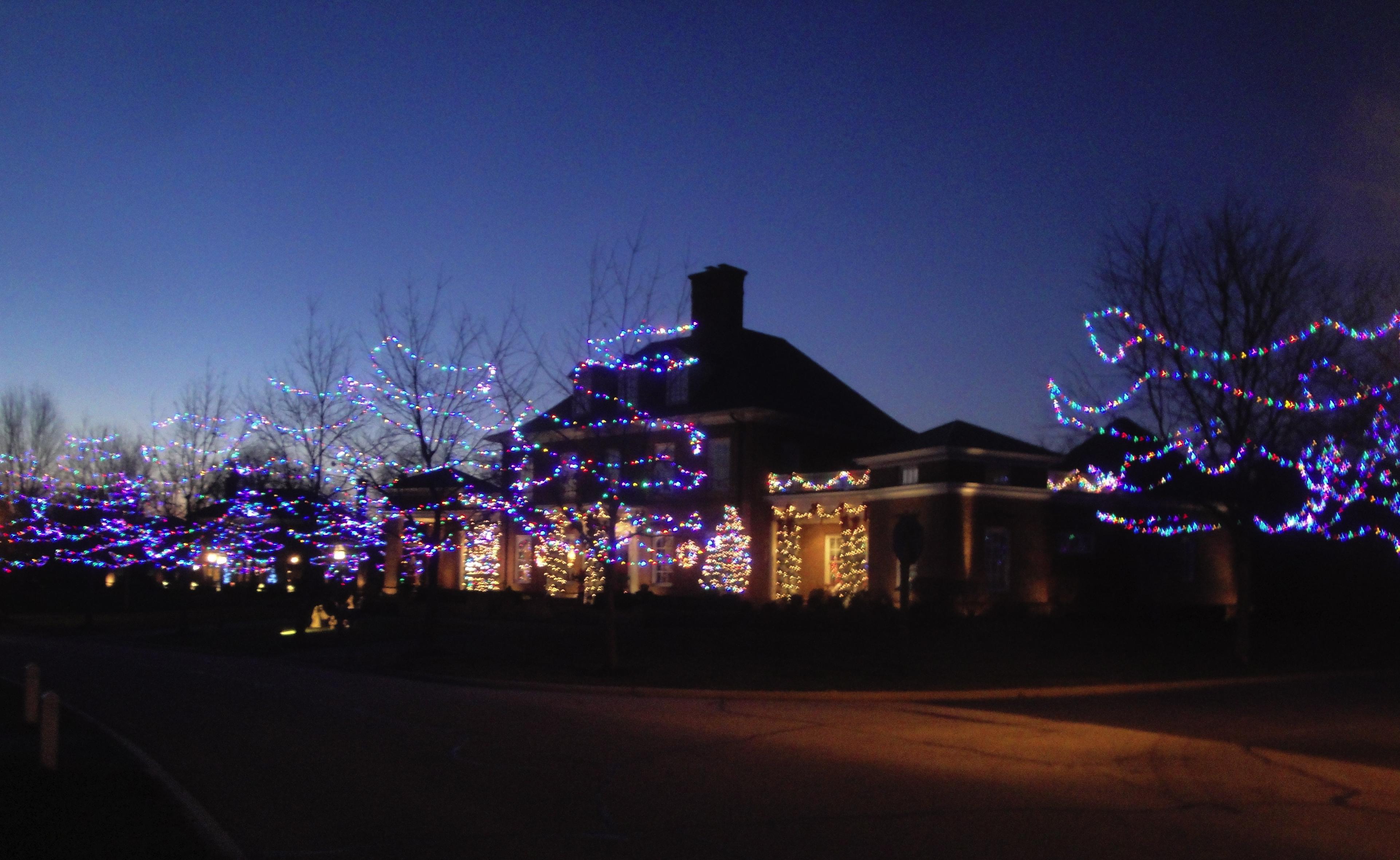 Christmas Lights   Webner House