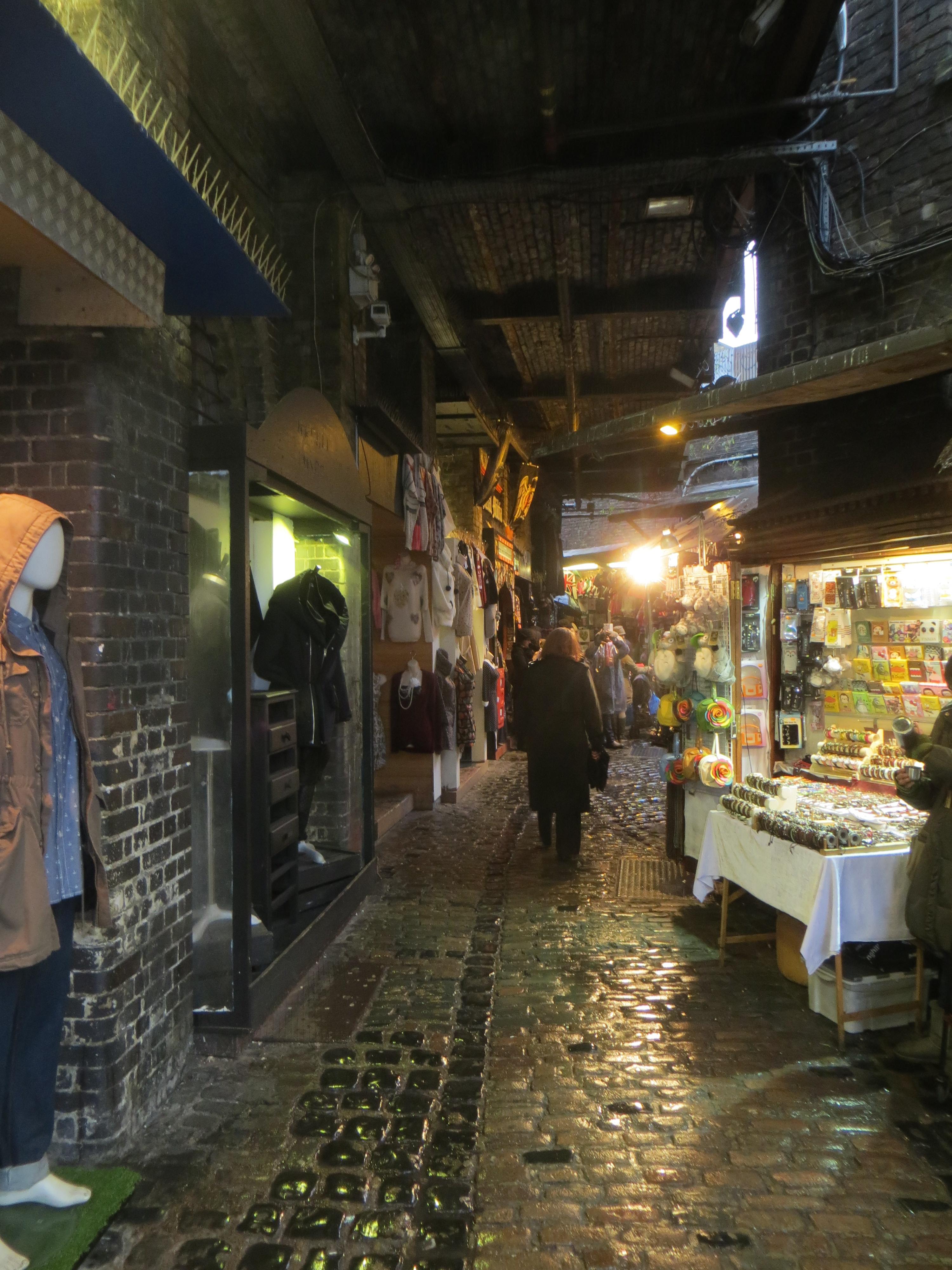Camden Town: At Stables Market In Camden Town