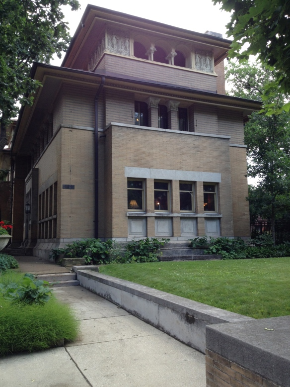 The Isidore Heller house.