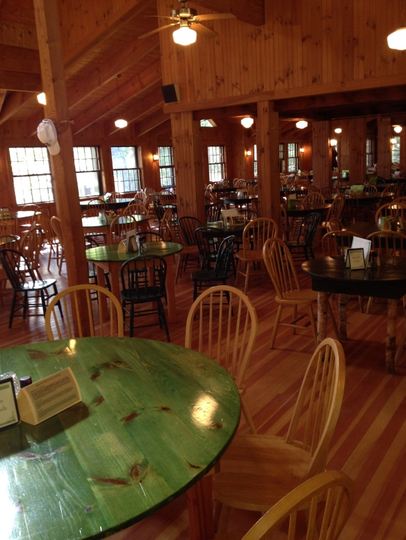 The Deephaven dining hall