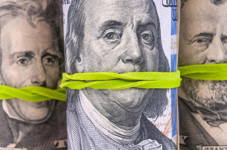 Rolls of Dollar Bills