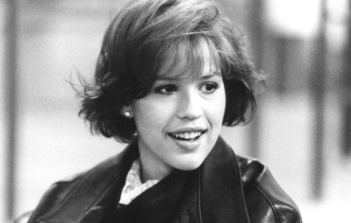 Molly Ringwald in Breakfast Club