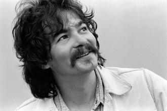John Prine on campus of Georgia State College - November 12, 1975